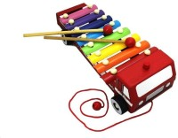 Shopaholic Fire Brigade Shape Xylophone (Multicolor)