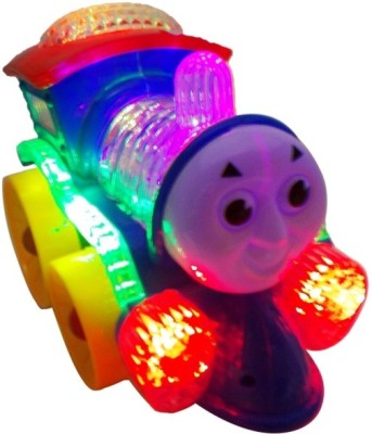 Zeemon Musical Toys Zeemon Musical Flashing Lights Locomotive Engine Toy
