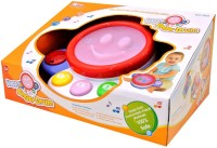 Saffire Baby Finger Drum With Lights And Music - Laughing Sound And Touch Drum (Multicolor)