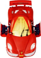 Funny Bunny Musical Antiterrorism Car With Working Headlights & Opening Boot Toy Gift For Kids (Red)