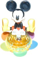 RECKONON Micky Mouse Musical Toy (Black, Yellow, White)