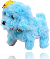 New Pinch Multi Color Musical Dog Walk And Bark Toy (Multicolor)