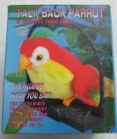 B.M.R. Trading Co. Talk Back Parrot (Multicolor)