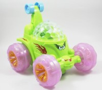 Funny Bunny Musical Rotating Dancing Car Toy Gift For Kids (Multicolor)