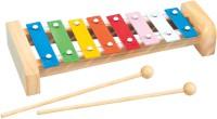 Simba My Music World 8 Metal Key Slabs Wooden Xylophone. (Multicolor)