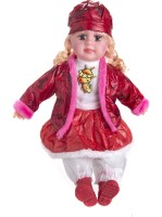 Atc Toys 5 Music Doll Multi Color-Red (Red)