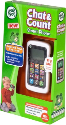LeapFrog Chat and Count Mobile Phone White
