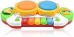 Planet of Toys Musical Instruments & Toys Planet of Toys Musical Drum with Flashing Lights