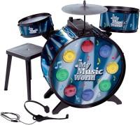 Simba My Music World Electronic L+S Drum. (Black)