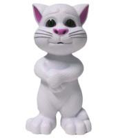 Zaprap White Plastic Talking Tom Cat (White)