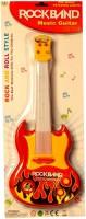 Shopalle Rock Band Music Guitar For Kids (Multicolor)