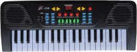 Tara Lifestyle 37 Keys Musical Electronic Keyboard With Mic (Black)