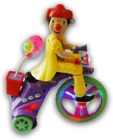 DinoImpex Clown Cycle With Light And Music (Multicolor)