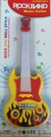 New Pinch Musical Guitar For Kid Battery Operated With Pop Music Fetching Light And Sound (Multicolor)