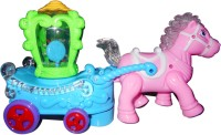 Smart Picks Horse Buggy Musical Toy (Multicolor)