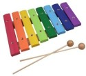 Taxton Wooden Xylophone 8 Scale Music Toy - Multicolor