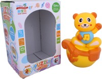 AV Shop Bear Shape Musical Roly Poly Toy (Multicolor)