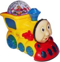 Smart Picks 3D Lighting Locomotive Train Engine (Multicolor)
