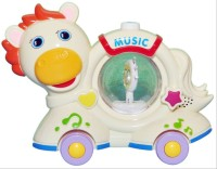 Prro Lovely Pony Baby Musical Toy (Multicolor)
