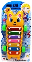 Vacfo Music Car 2n1 Xylophone & Car (Multicolor)