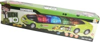 Lotus Super Bus Ben 10 With Music & 3D Light (Multicolor)