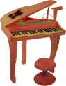 AdraxX 37 Key Mini Grand Piano Toy - Multicolor