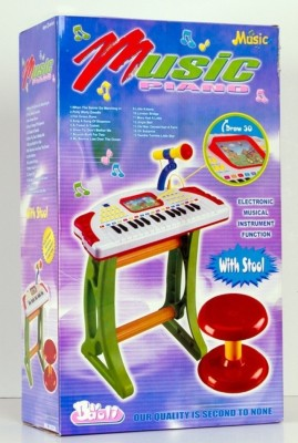 OZ Musical Instruments & Toys OZ MUSIC PIANO WITH STOOL