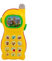 Toyzstation Learning Study Phone With Projector (Yellow)