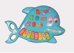 A R Enterprises Musical Instruments & Toys A R Enterprises Multicolored Dolphin Piano
