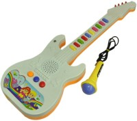 A R Enterprises Musical Guitar For Kids With Mic (Multicolor)
