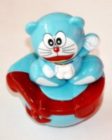 Ruppiee Shoppiee Roly Poly Doremon (Blue, Red)