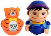 New Pinch Musical Naughty Baby Boy With Roly Poly Toy For Kids (Multicolor)