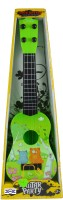Emob 4 Tight Tunable String 40cm Long Musical Party Play Guitar Toy For Kids (Green) (Green, Black)
