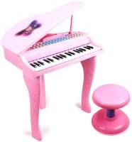 Grabby Hot Selling 37 Keys Electronic KeyBoard (Pink)