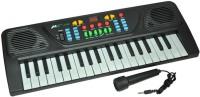 Zaprap Multicolor Plastic Musical Electronic 3768 Piano Keyboard (Multicolor)