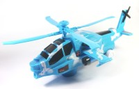 Littlegrin Victor Combat Military Helicopter (Beige, Blue)