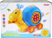 Venus-Planet Of Toys Teacher Snail W/ Telephone With Light,Music& Educational Game Modes (Multicolor)