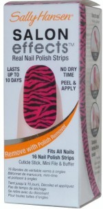 Sally Hansen Nail Arts Sally Hansen Salon Effects Real Nail Polish Strips