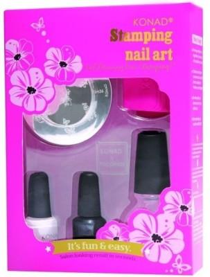 8 Off On Konad Stamping Nail Art Kit Set T Set Of 6 On Flipkart