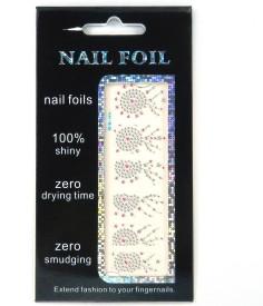 SPM New Nail Art beautifull Foil Sticker kit