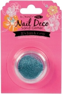 Konad Pro Nail Deco Sand Glitter Blue Green