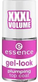 Essence Gel Look Plumping Top Coat 8ml-50359