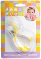 Mee Mee Deluxe Nail Clipper With Magnifier Yellow