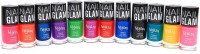 Foolzy Pack Of 12 Nail Polish Paint 72 Ml (12 Disco Shades)