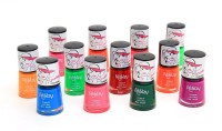 Foolzy Pack Of 12 Neon Nail Polish Paint 72 Ml (12 Neon Shades)