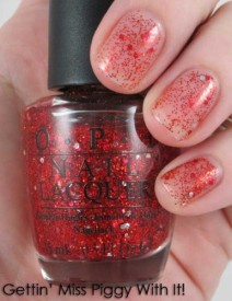 OPI Muppets Collection Gettin' Miss Piggy With It! Nail Polish 15 ml