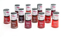 Foolzy Pack Of 12 Matt Nail Polish Paint 72 Ml (12 Matt Shades)