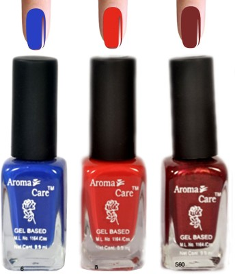 Aroma Care Nail Polishes 6 8 625