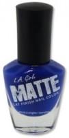 L.A. Girl Matte Flat Finish 14 Ml (Matte Indigo Nl534)