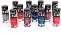 Foolzy Pack Of 12 Nail Polish Paint 72 Ml (Magic Multicolour)